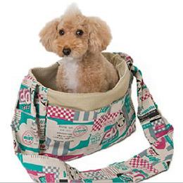 Toto&Pal 城市漫遊斜背寵物包