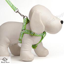 【Good Puppy】5分尼龍緞帶胸背帶+拉帶