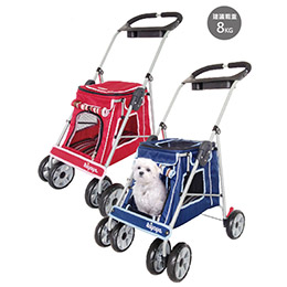 時尚寵物小推車