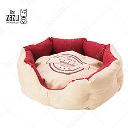 The Zazu飄飄好夢雙色圓床-兩色可選