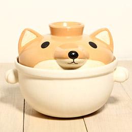 Sunart 小型砂鍋-柴犬