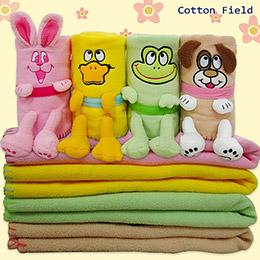 可愛寵物兒童創意隨意毯(70x90cm)