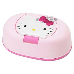 Kitty 日製濕紙巾盒 內附80抽玻尿酸濕紙巾