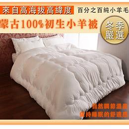 【契斯特】頂級100%蒙古小羊被-雙人
