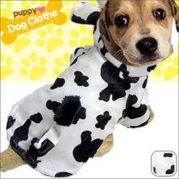 可愛乳牛變身寵物裝
