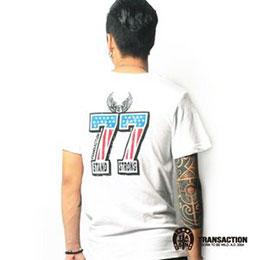 美式短T- 國旗77