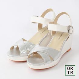 立體厚底繫裸涼鞋(3色)