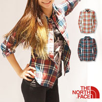 TNF法蘭絨格紋襯衫