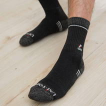 竹炭紗百分百氣墊襪