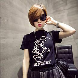 東大門可愛米奇短袖T恤