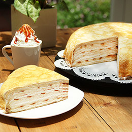 太妃焦糖千層蛋糕