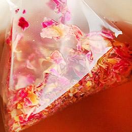 玫瑰花茶+水蜜桃鳳梨果味茶
