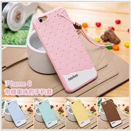 iphone 6 4.7吋 法比兔冰淇淋矽膠套