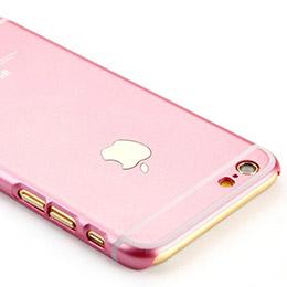 iPhone 6 / 6Plus 粉紅色 金色 超薄保護殼