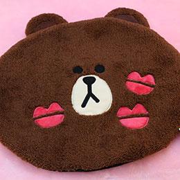 LINE 熊大造型 小巧可愛地墊