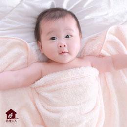 美國抗菌第一品牌Microban 柔膚超吸水力嬰兒小蓋被