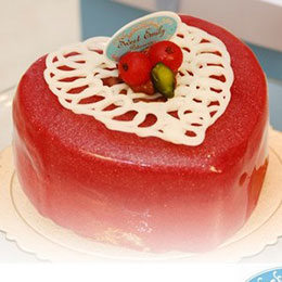 甜心凱莉蛋糕6吋★送造型馬卡龍