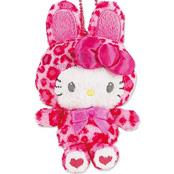 粉紅豹紋兔變裝派對掛飾