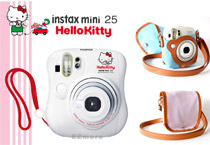 富士instax mini 25 Hello Kitty 拍立得+帆布包