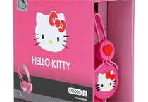 Hello Kitty Graphic 粉色愛心耳罩式耳機