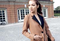 單釦毛料中性西裝外套