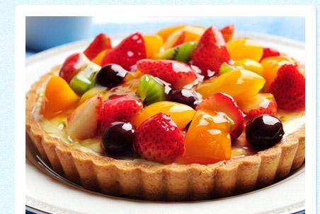 【法藍四季】繽紛水果多芬低脂水果塔