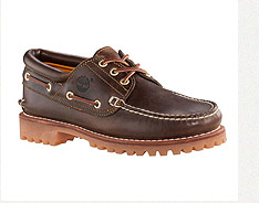 Timberland手工牛皮駝色經典雷根鞋