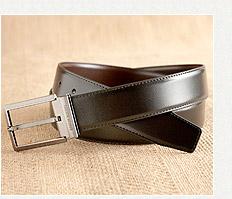 德國小金牛造型穿針式紳士皮帶