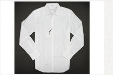 CK純棉長袖白襯衫