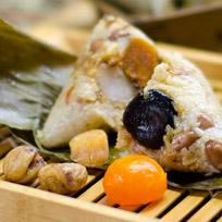 『台味館』朱爺爺華麗肉粽