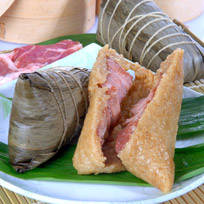 『南門市場立家』湖州鮮肉粽