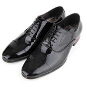 韓國空運進口MOODA黑色皮鞋