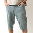 低磅數 單寧牛仔短褲