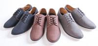 透氣亞麻材質綁帶休閒鞋