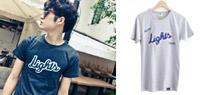 韓版立體貼章Light 短袖T恤