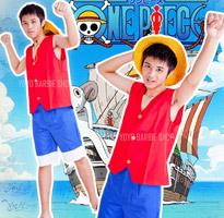 海賊王-魯夫服裝