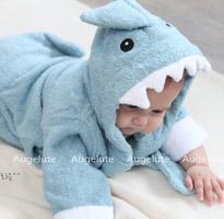 小寶寶動物造型浴袍