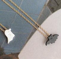 蝙蝠幽靈項鍊