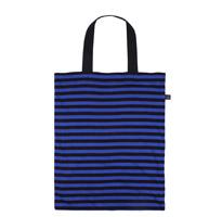 0416x1024「隨心袋」藍黑條紋大提袋