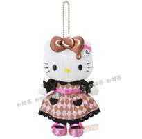 日本進口Hello Kitty萬聖幽靈系列玩偶吊飾