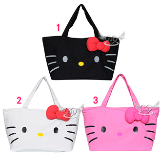 Hello Kitty大臉托特包