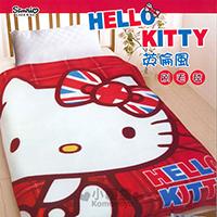 Hello Kitty 隨身刷毛毯