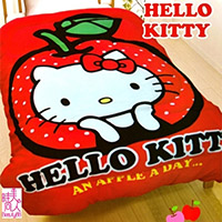 Hello Kitty 暖暖毯被