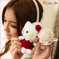 【三麗鷗聯名】Kitty暗紅洋裝娃娃