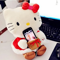 Hello Kitty造型絨毛音樂音響喇叭