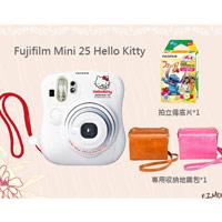 富士 instax mini 25 Hello Kitty 拍立得+底片+收納包組