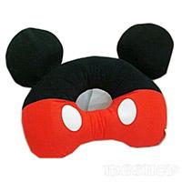 迪士尼絨毛甜甜圈造型午安枕