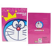 2013 Doraemon小叮噹 年曆本日誌