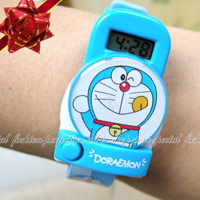 小叮噹卡通電子手錶
