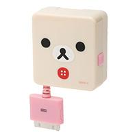 San-X 牛奶妹iPhone伸縮線充電器
